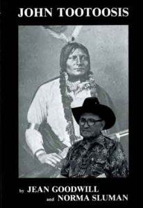 "cover image of book, ""John Tootoosis"" by Jean Goodwill and Norma Sluman"