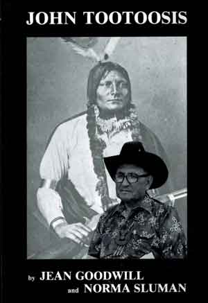 """cover image of book, """"John Tootoosis"""" by Jean Goodwill and Norma Sluman"""