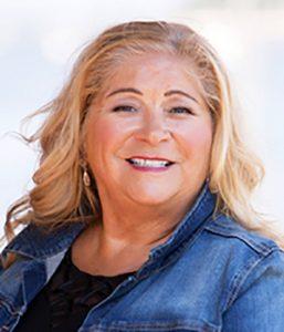 "photo of Karen L. Adams, author of book ""Woman In Scarlet"""