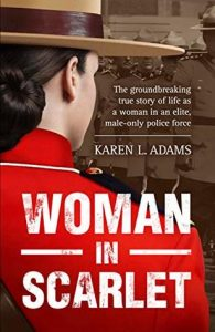 book cover for Woman In Scarlet