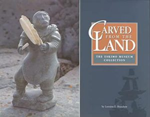 """cover image of book """"Carved From The Land"""" by Lorraine E. Brandson"""