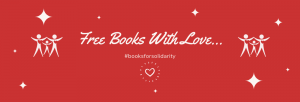"""image which reads """"Free Books With Love"""""""