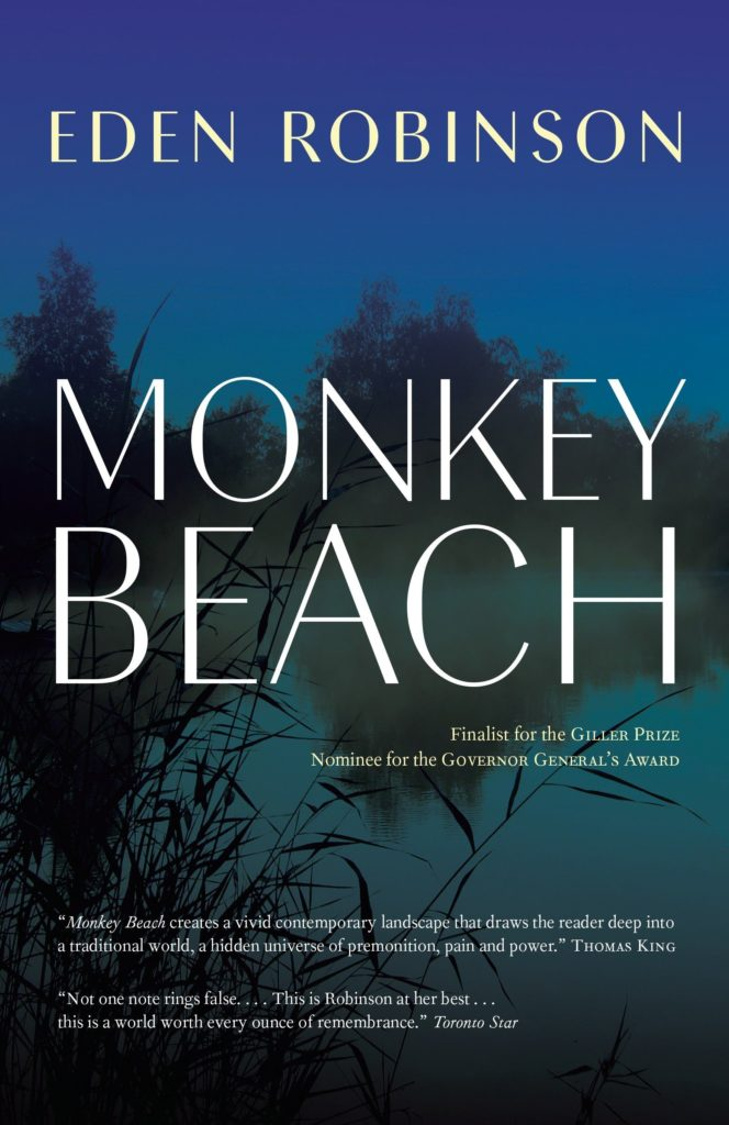 Cover of Monkey Beach by Eden Robinson