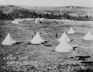 NWMP Camp Fort Walsh in 1878