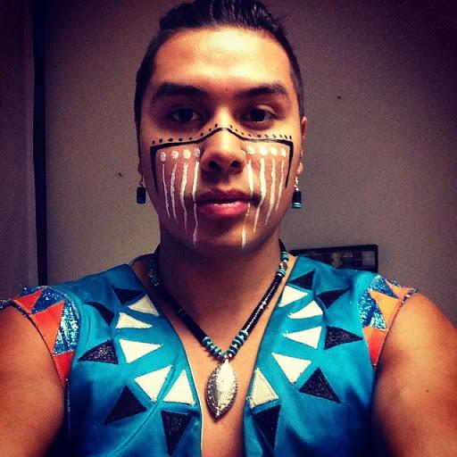 James Jones, Indigenous Hoop Dancer