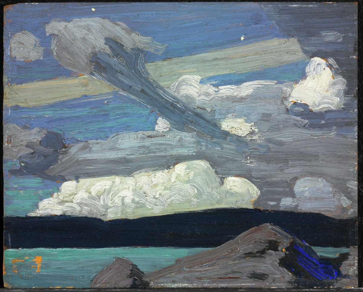 "Clouds ""The Zepplins"" byTom Thomson"